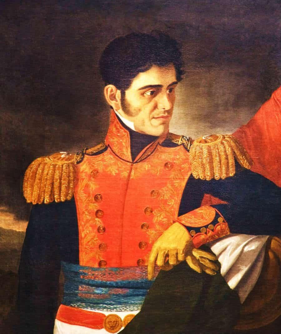 Santa anna Gobierno Independiente